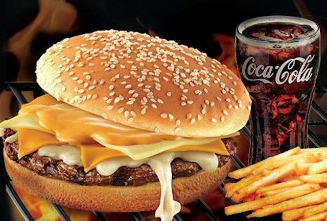 Burger King Philippines Four-Cheese Whopper - Thrillist