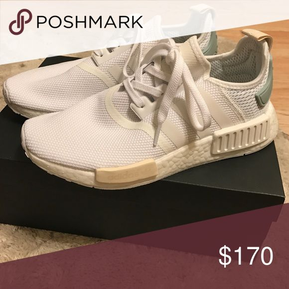 White adidas nmds Adidas nmd never used. Are brand new Adidas Shoes Sneakers