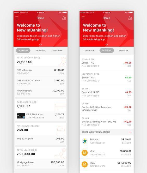 Mobile banking exploration big: