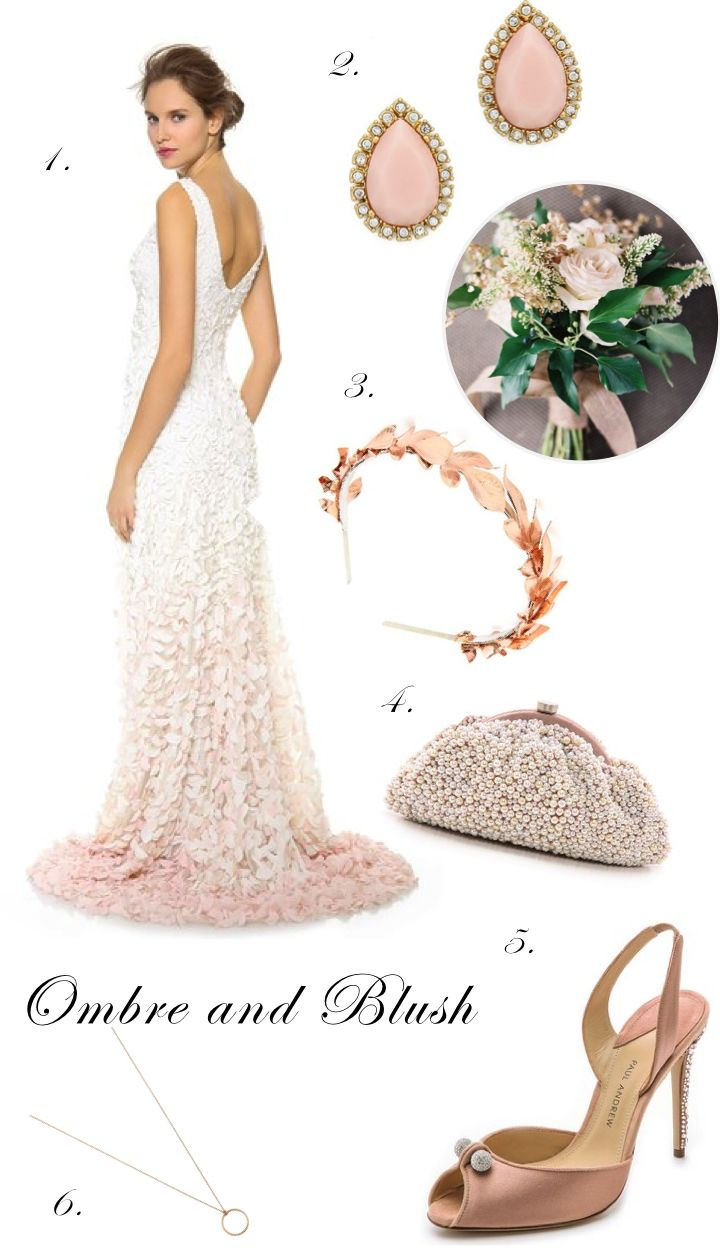 Bridal Looks to Love: Designer Wedding Gowns on Sale Today! www.theperfectpalette.com - Bridal Beauties