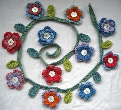 La crochetnauta: Guirnaldas crochet