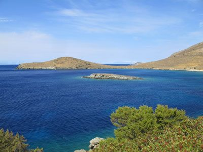 Deep Blue of the Aegean
