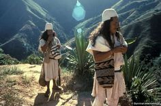 The Indians of the Sierra Nevada are four unique, related tribes who live on the slopes of the Sierra Nevada de Santa Marta in northern Colombia.