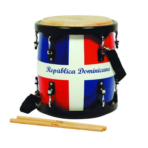 """""""TAMBORA"""" (DOMINICAN DRUM):  The Dominican Tambora (from the Spanish word tambor, meaning """"drum"""") is a two headed drum percussion instruments played in merengue music. In many countries, especially the Dominican Republic, tamboras were made from salvaged rum barrels."""