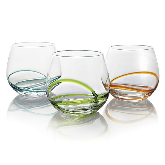 Drinking glasses (Crate and Barrel)