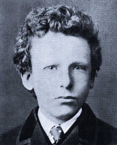 Vincent van Gogh, 1866, age 13.
