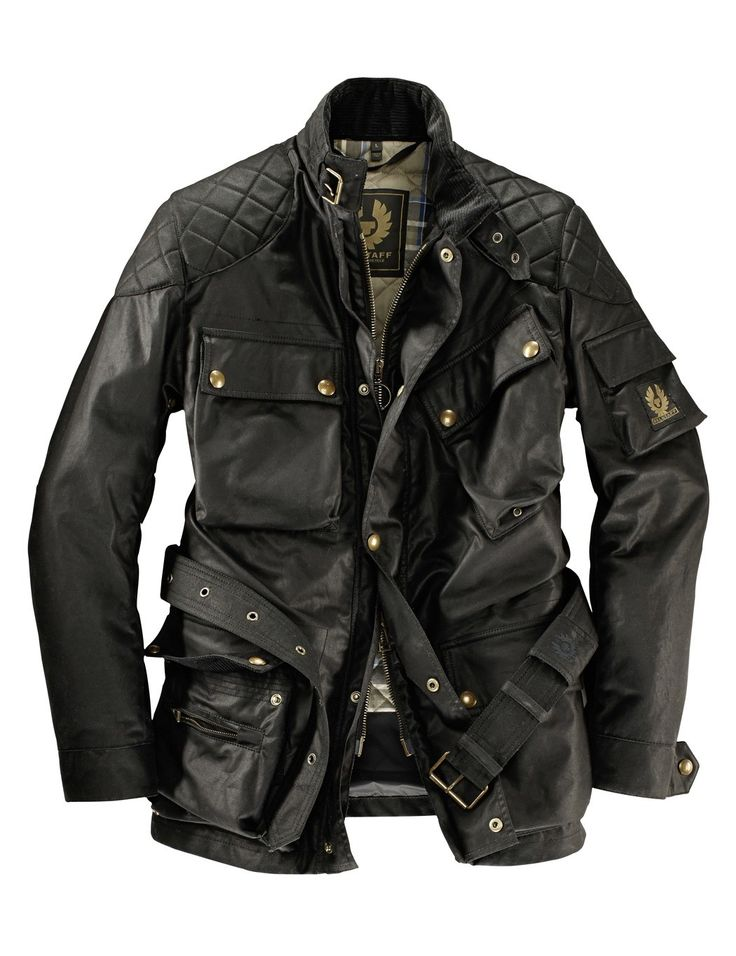 Belstaff Pure Motorcycle Herrenjacke Trialmaster