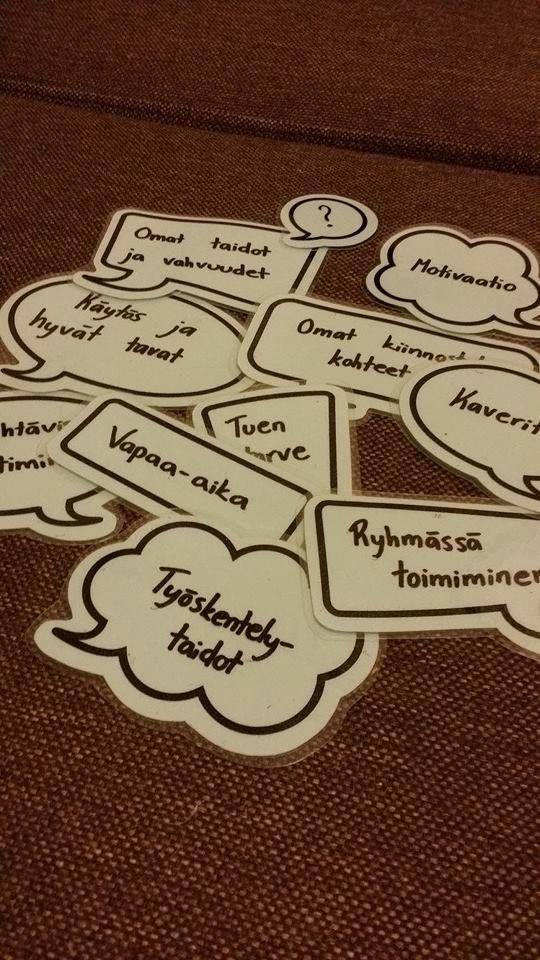 Oppilaanohjaus keskustelunaiheet