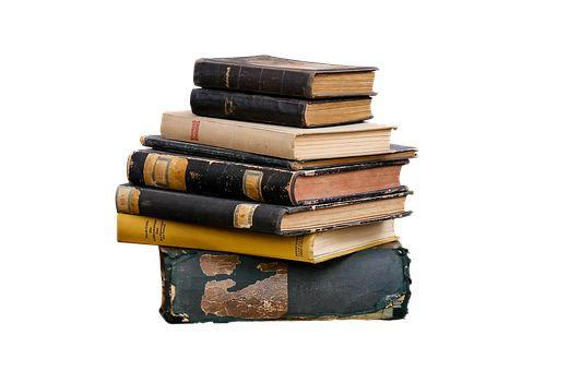 책, 읽기, 문학, 늙은, Png, 외딴, 골동품, 오래 된 책