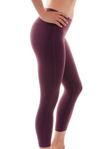 90 Degree By Reflex Yoga Capris - Yoga Capris for Women - Hidden Pocket: Clothing