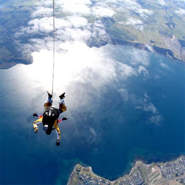 This could be you! how about a skydive with Taupo Tandem Skydive this summer with a view this good why not..