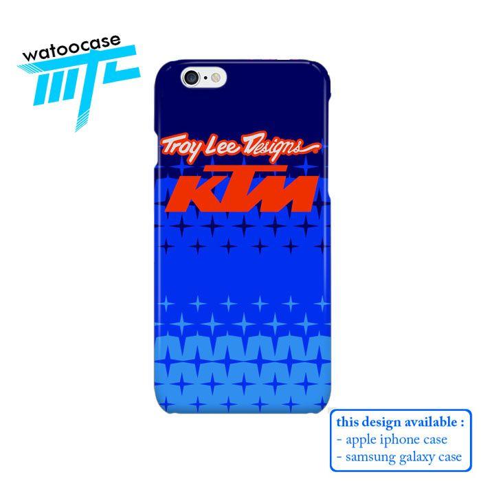 Troy Lee Design KTM Starburst Phone Case | Apple iPhone 4 4s 5 5s 5c 6 6s Plus Samsung Galaxy S3 S4 S5 S6 S7 EDGE Hard Case