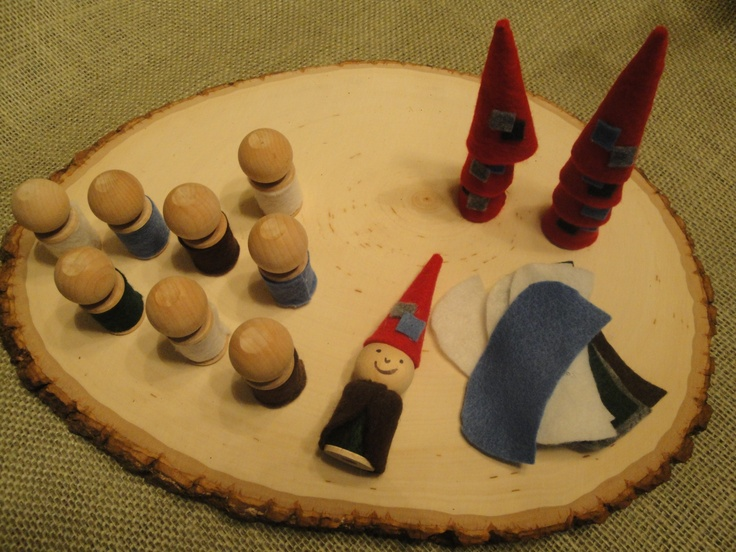 Fairy party: Make your own gnome craft