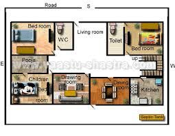 Vastu Model House Plan   House And Home Design