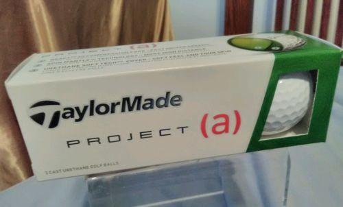 TaylorMade-Project-a-3-Cast-Urethane-Golf-Balls-NIB