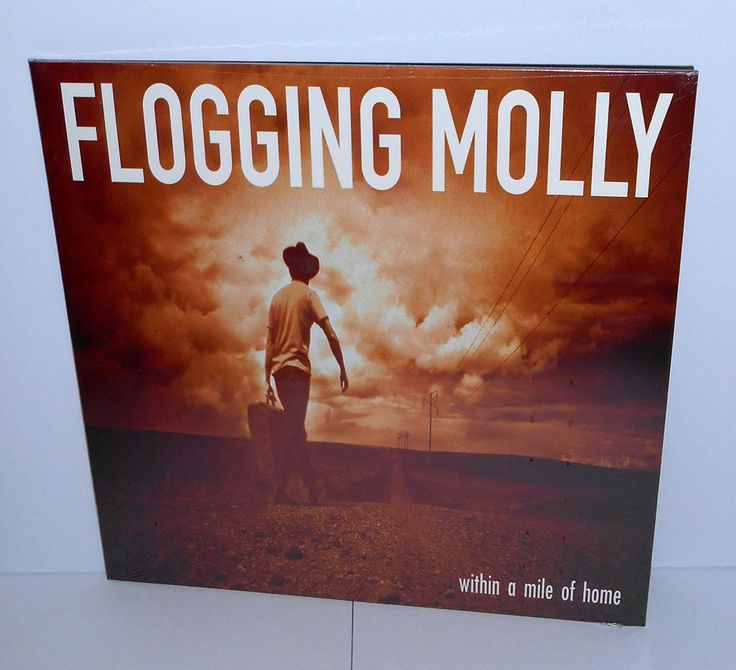 FLOGGING MOLLY within a mile of home LP Vinyl Record SEALED , Punk #punkPunkNewWave