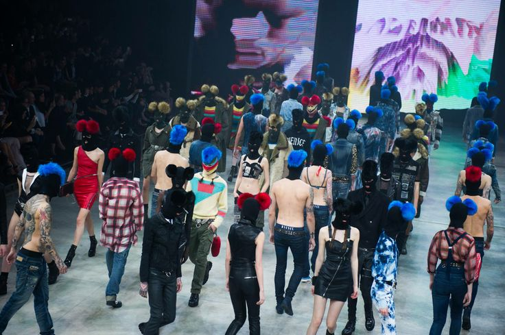 The epic debut of Nicola Formichetti's #dieselvenice army