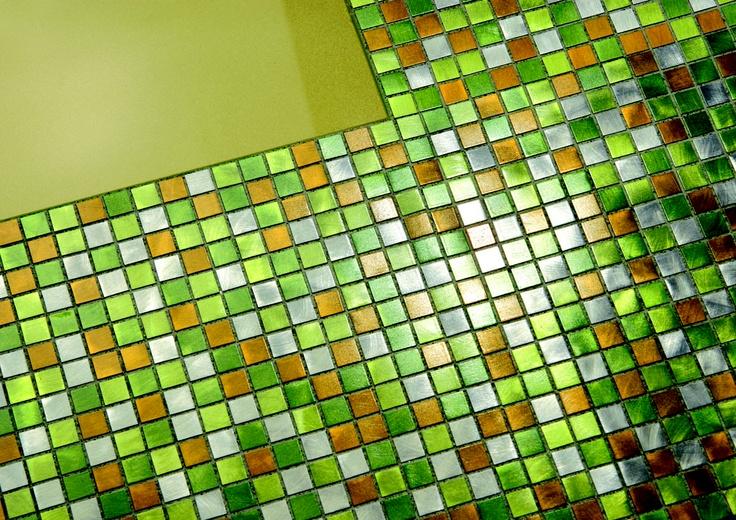Mezcla de colores perfecta: Verde y Dorado