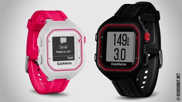 Garmin Forerunner 25   новые спортивные часы с трекером активности