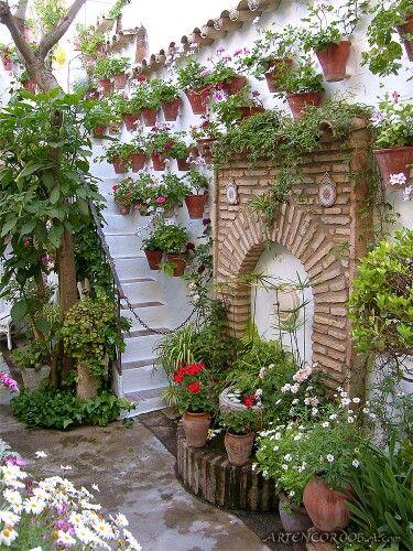 1000 images about patios on pinterest cordoba cordoba - Fuente para patio ...