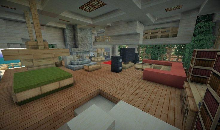 Minecraft Interior Design Minecraft Pinterest Interiors