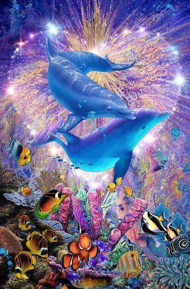 Rainbow God with  Me Rainbow & Underwater  World of Peacefulness.  ❤