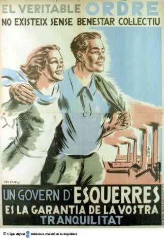 El Veritable ordre no existeix sense benestar col.lectiu : un govern d'esquerres…