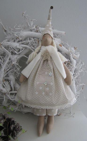 Weihnachts-Christmas tilda, рождественский ангел
