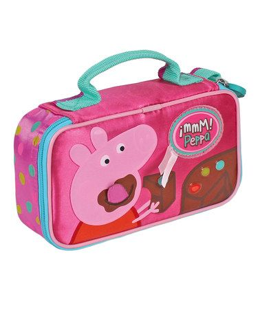 Pink Peppa Pig Insulated Sandwich Bag by Peppa Pig on #zulily