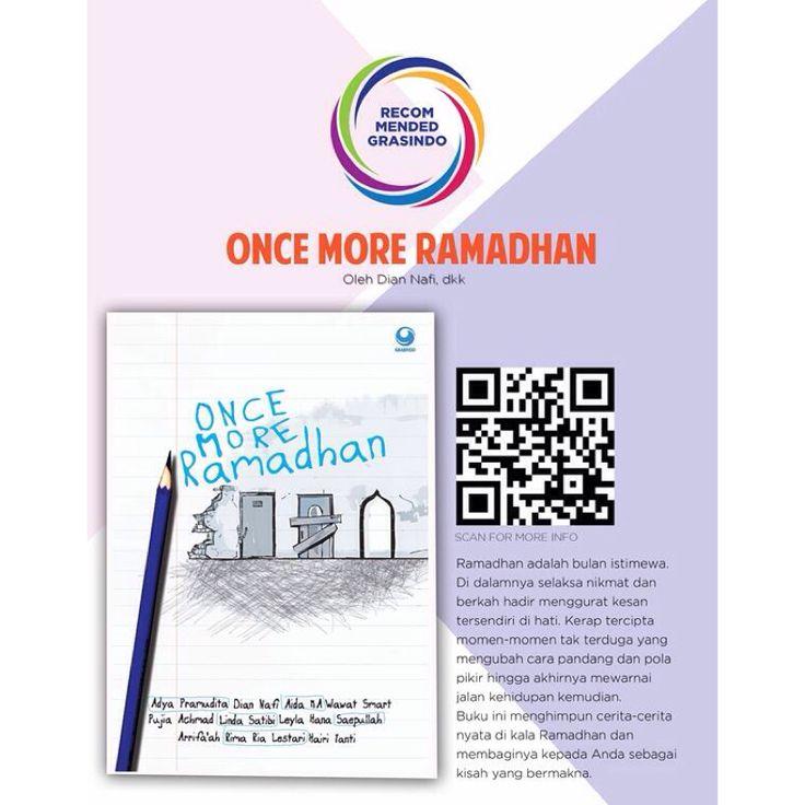 "#RecommendedBook ""Once More Ramadhan"" by @ummihasfa dkk http://bit.ly/oncemoreramadhan"