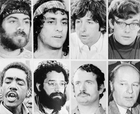 Feb 19, 1970: Chicago Seven sentenced.The Chicago Seven (formerly the Chicago Eight—one defendant, Bobby Seale, was being tried separately) are acquitted of riot conspiracy charges, but found guilty of inciting riot.The eight antiwar activists were charged with the responsibility for the violent demonstrations at the August 1968 Democratic National Convention in Chicago. The defendants included David Dellinger of the National Mobilization Committee (NMC); Rennie Davis and Thomas Hayden ...