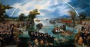 Fishing for Souls 1614  Adriaen Pietersz. Van De Venne
