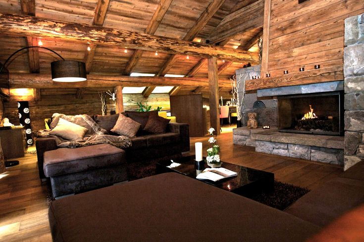 Awesome Decoration Chalet Contemporary - Home Decorating Ideas ...