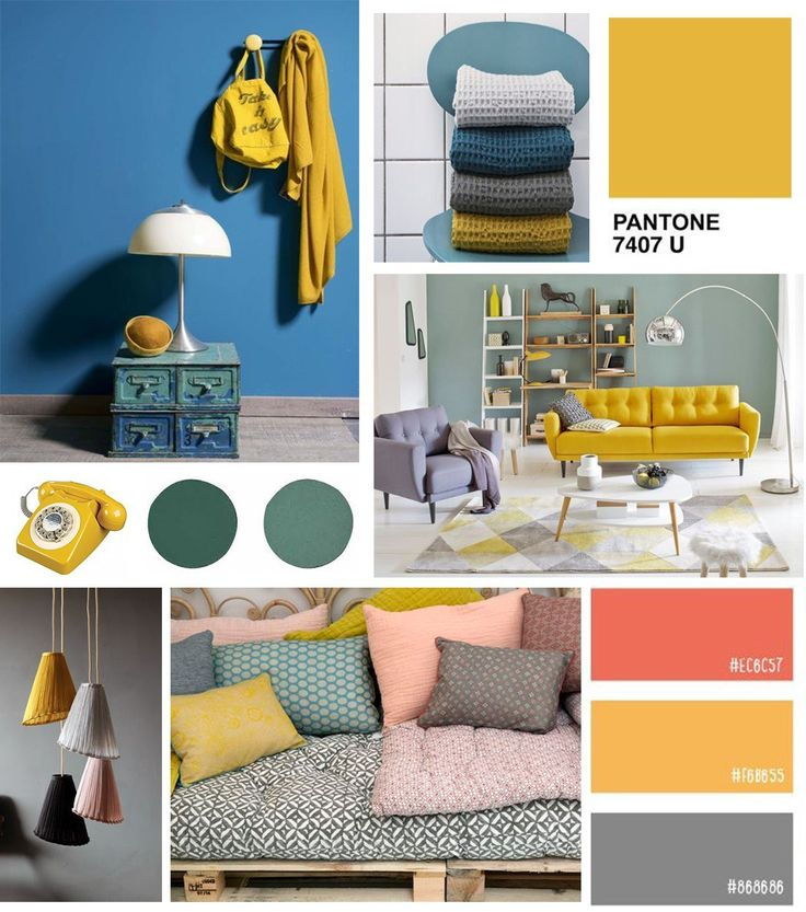 Jaune moutarde association avec autres couleurs v2 couleur pinterest mu - Jaune moutarde decor ...