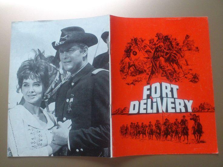 "Danish movie program ."" A Distant Trumpet"" 1964.Troy Donahue.Pleshette. | eBay"