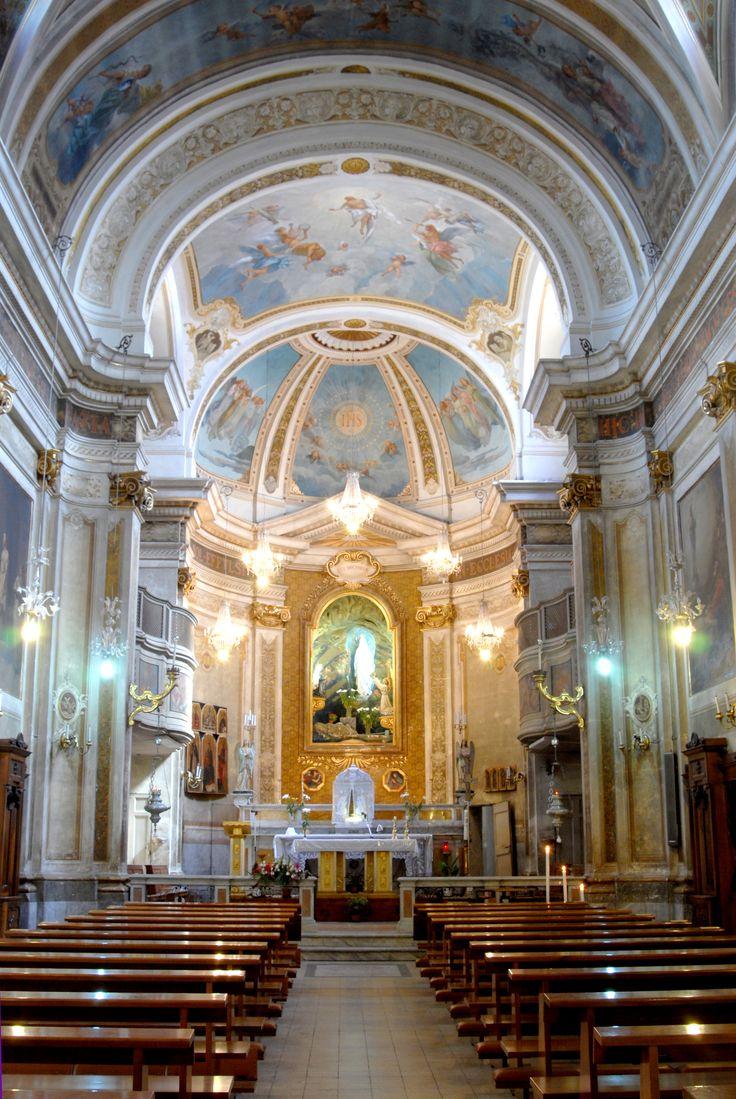Chiesa di S. Agostino, interno. #marcafermana #monterubbiano #fermo #marche