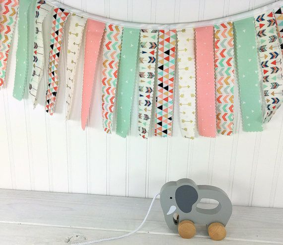 Best 25 Fabric Strip Garland Ideas On Pinterest Fabric