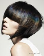 Petros Mairoudhiou & Anna Chapman - 2013 London Hairdresser of the Year Finalist Collection - HJi>>> loooove this effect!!!