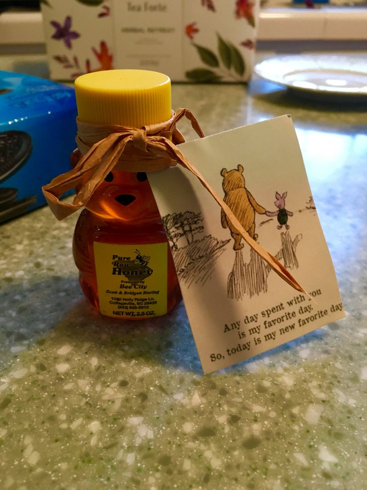 Sweetest honey bear wedding favor