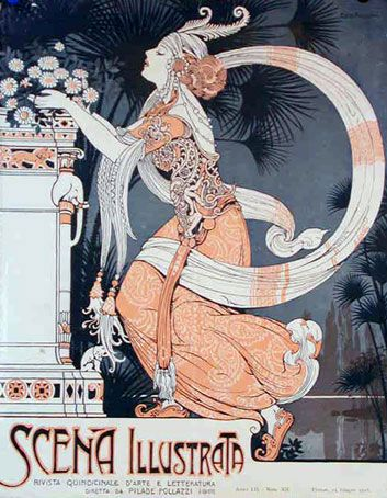 bigScenaIndianGirl  Art Nouveau