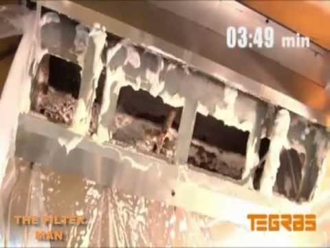 (789) Como limpiar una campana extractora industrial - YouTube