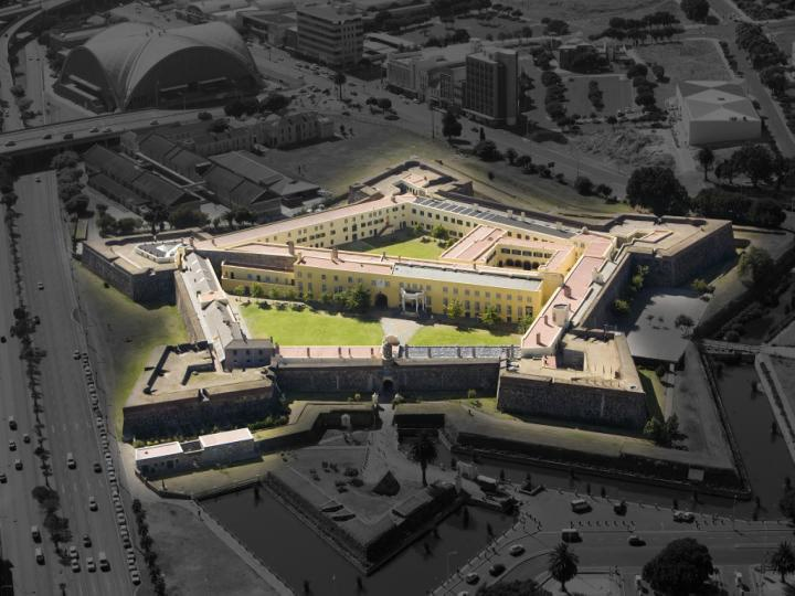 The Castle of Good Hope as it is today, Cape Town