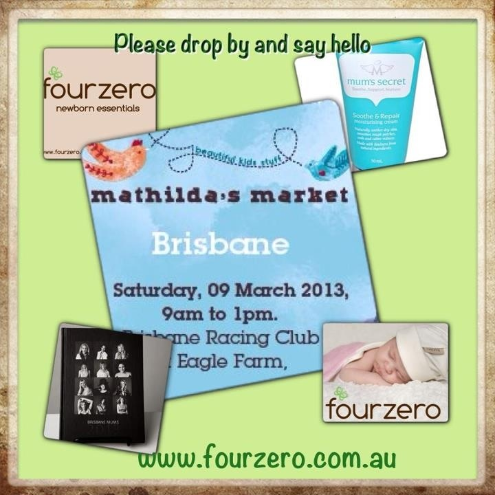 Market 9/3/13 Mathildas we shall be selling Mums Secret and mums diaries next to our beautiful range of Fourzero.