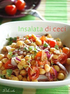 Csicseriborsó saláta | Dolce Vita Blog