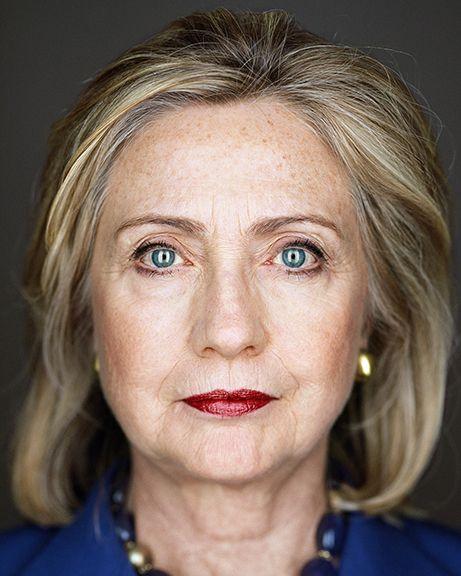 Martin Schoeller · Hillary Clinton
