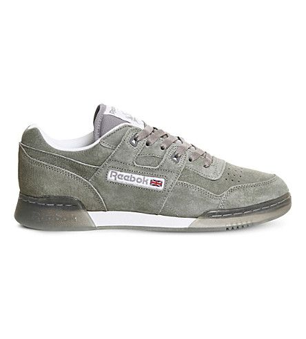 REEBOK Workout Plus suede trainers €74.00