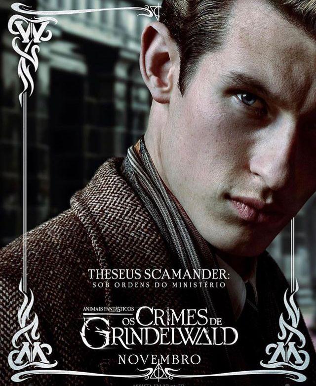 Theseus Scamander Com Imagens Bestas Fantasticas Animais