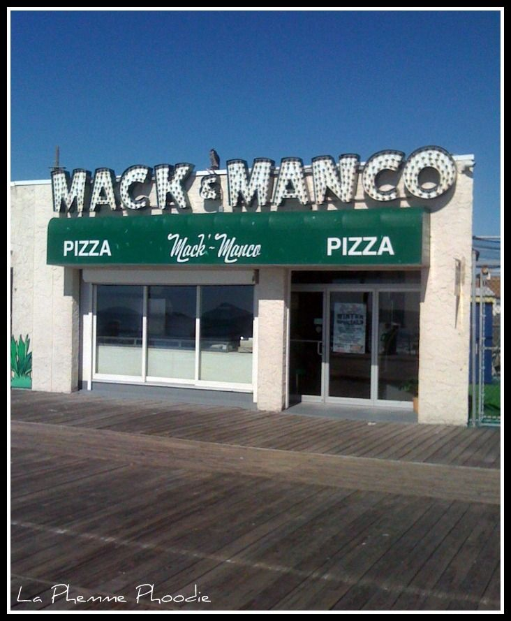 "MACK & MANCO, Ocean City, NJ - Best Beach Food Finds - *NEW NAME: ""MANCO & MANCO"" same great pizza!"