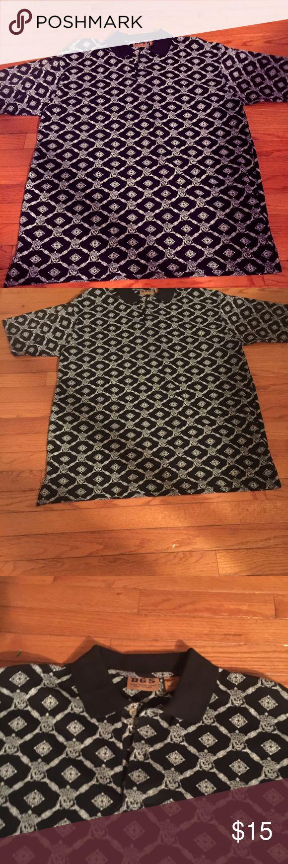 NWT! MENS POLO T-SHIRT MENS POLO T-shirt SIZE XL DGS Shirts Polos
