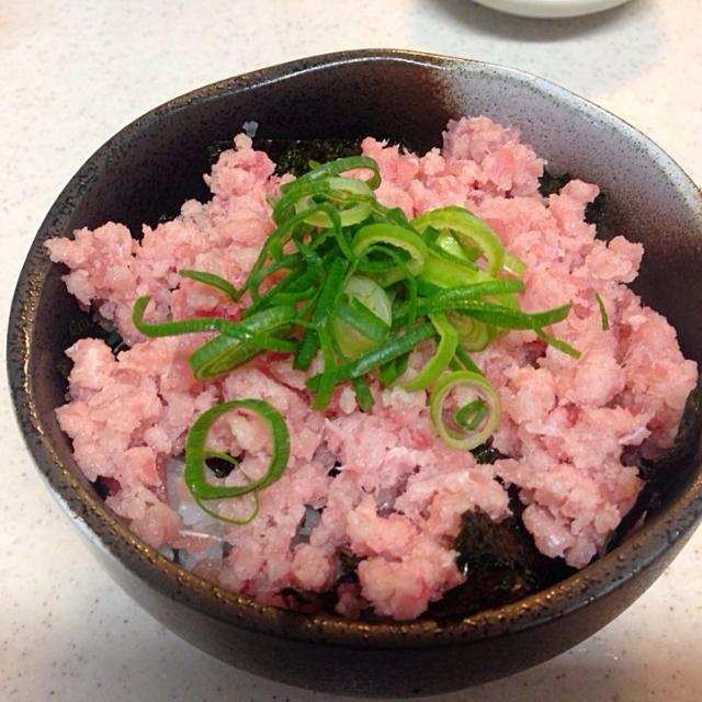 昨晩の残り物‼︎ - 16件のもぐもぐ - ネギトロ丼❗️ by miyuyasushima